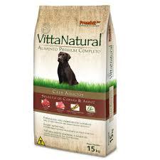 Ração Vitta natural Carne 15kg cães adultos