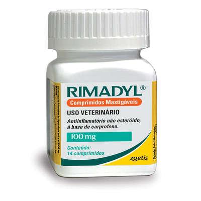 Rimadyl 100mg com 14 comprimidos