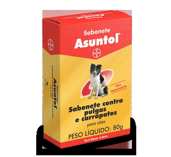 Sabonete Assuntol para cães - Mata pulgas e carrapatos