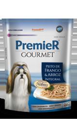 Sache Premier Gourmet Peito de Frango e Arroz 100 gramas