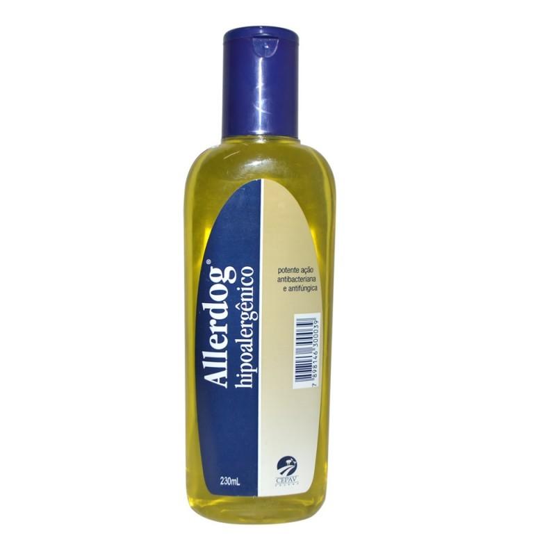 Shampoo Allerdog Hipoalergênico 230ml Cães e Gatos