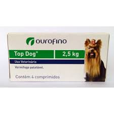 Top Dog 2,5 kg com 4 comprimidos