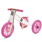Triciclo 2 em 1 Neve Rosa Biciquetinha