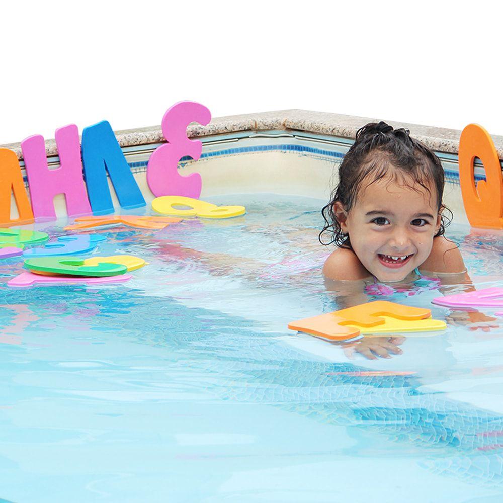 Alfanumérico divertindo-se no banho - Carlu Brinquedos
