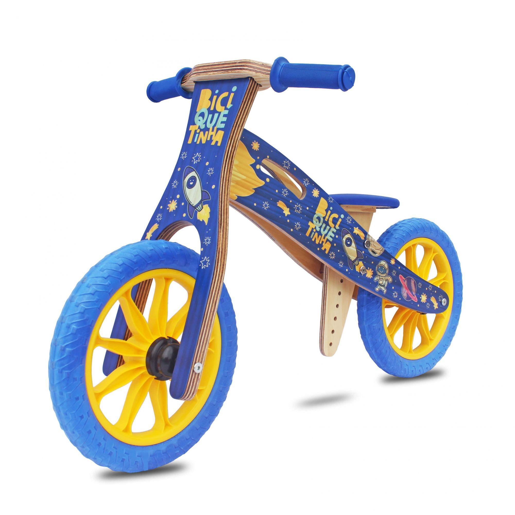 Bicicleta de Equilíbrio sem Pedal ASTRONAUTA