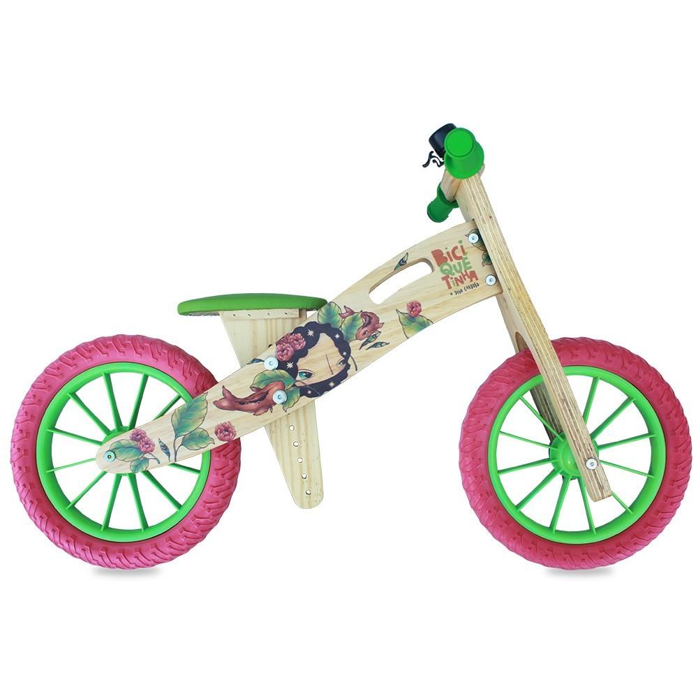 Bicicleta de Equilíbrio sem Pedal DIGO + BICIQUETINHA Meninas