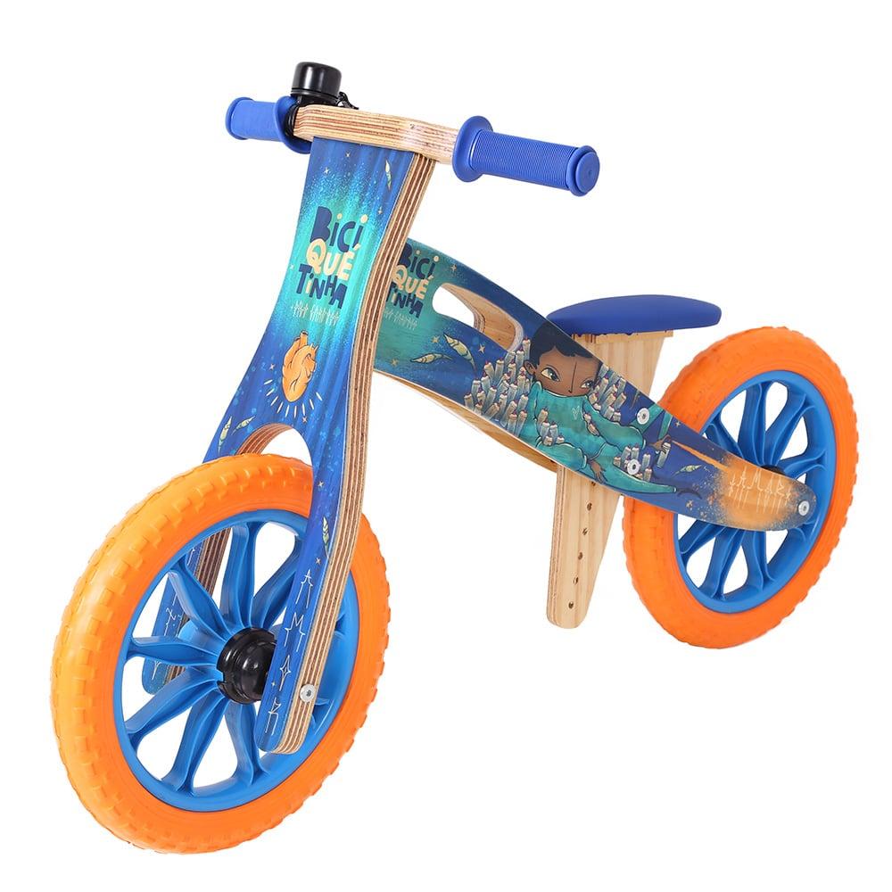 Bicicleta de Equilíbrio Digo Cardoso + Biciquetinha Sonhar