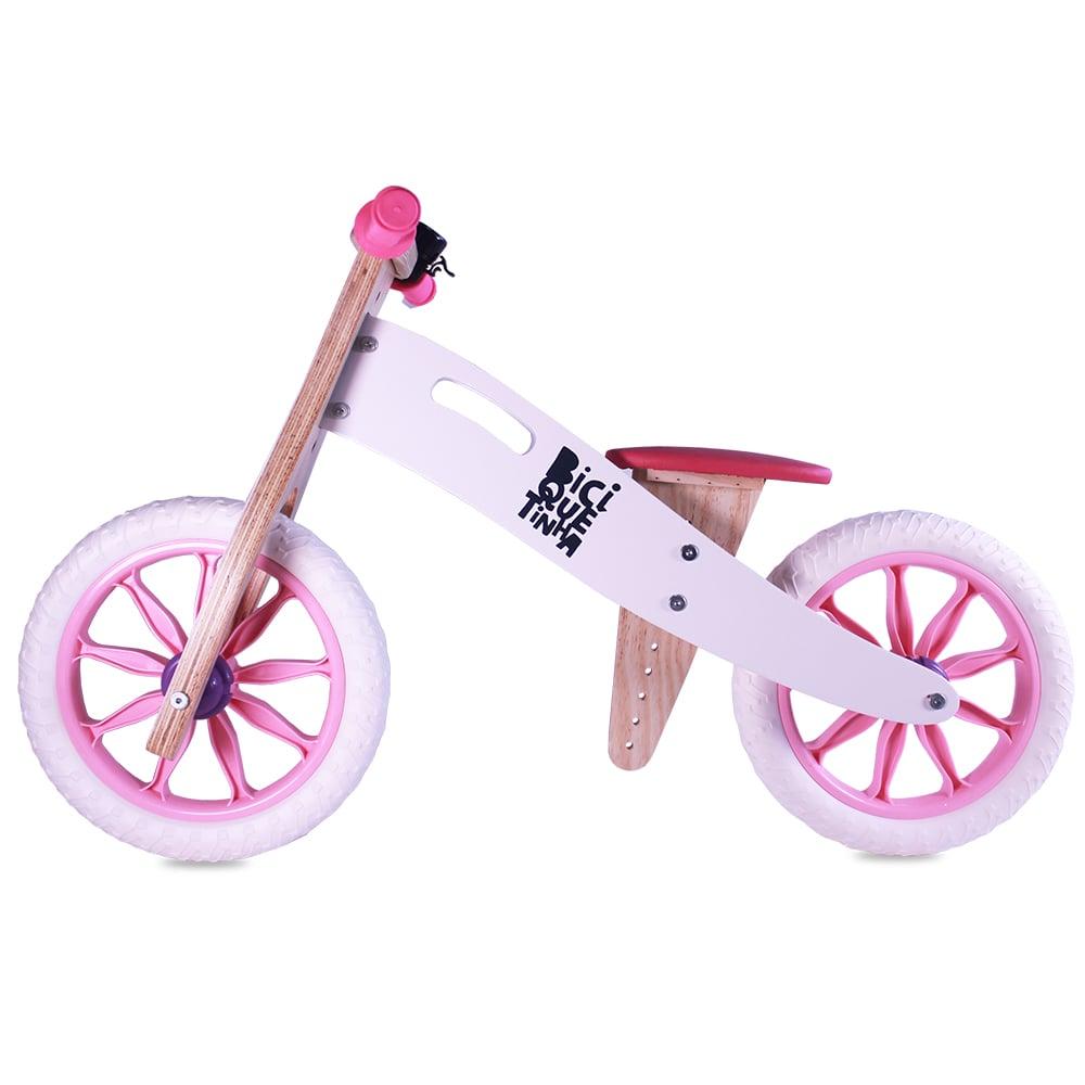 Bicicleta de Equilíbrio sem Pedal NEVE ROSINHA - EDIÇÃO LIMITADA