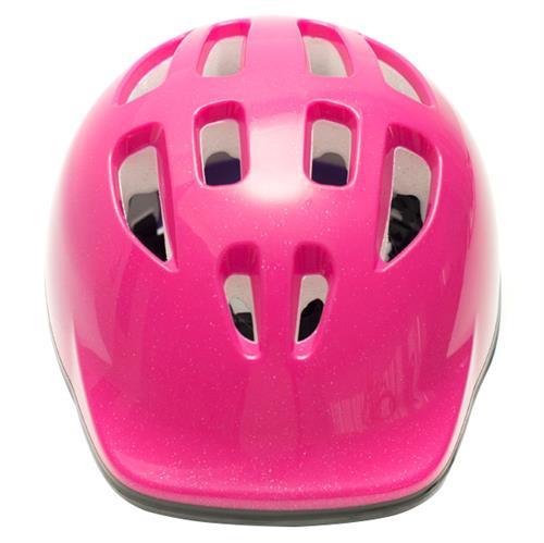 Capacete Infantil Rosa Balance Bike com Regulagem