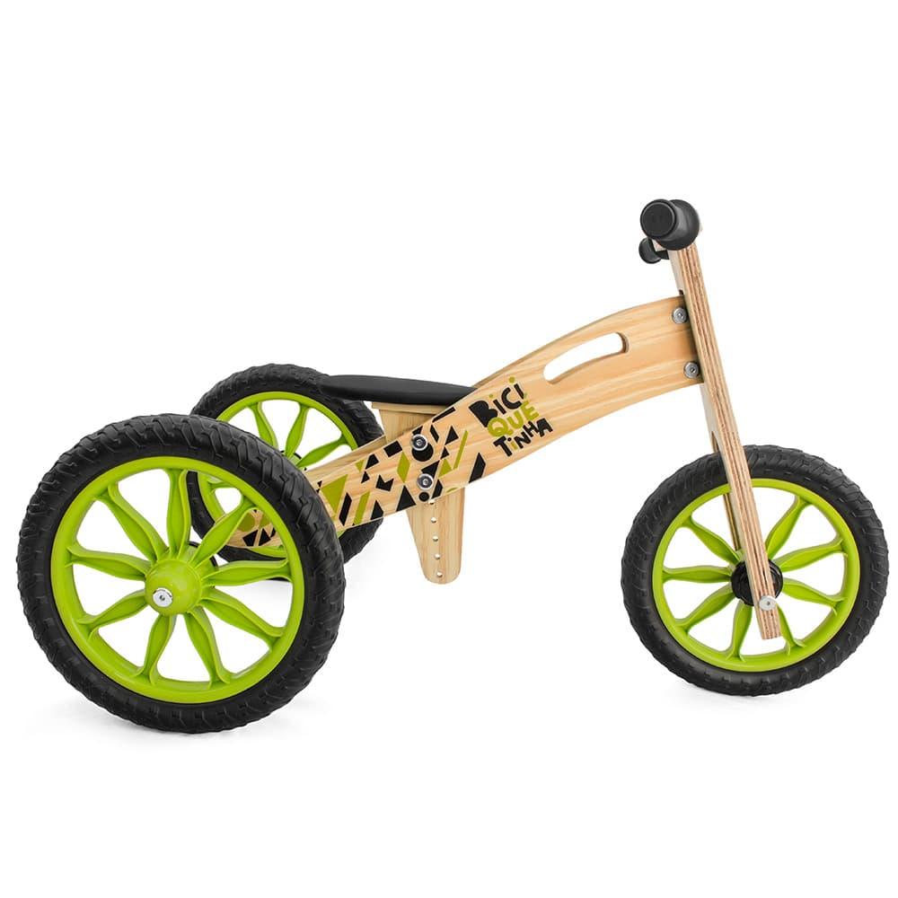Triciclo 2 em 1 (vira bicicleta de Equilíbrio) FLORESTINHA