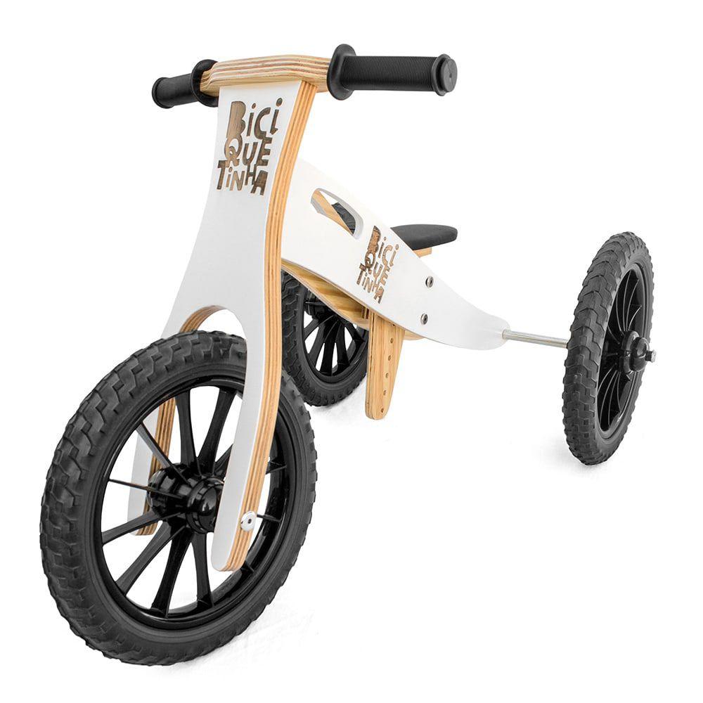 Triciclo 2 em 1 (vira bicicleta de Equilíbrio) NEVE