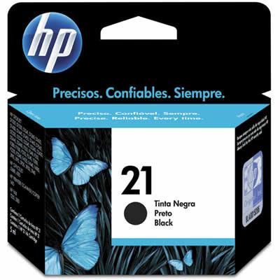 Cartucho HP21 HP 21 C9351AL Preto