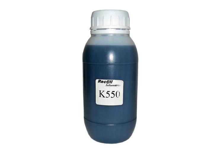 Tinta 250ml para Recarga de Cartuchos HP K8600 K550 K5400 L7580 L7680 L7780