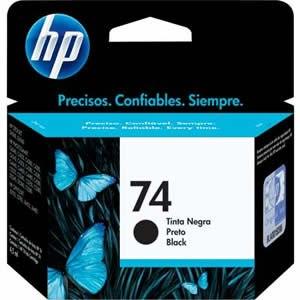 Cartucho HP74 HP 74 CB335WL Preto para D4260 C4280 D4360 Original