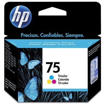 Cartucho HP75 HP 75 CB337WL Colorido para D4260 C4280 D4360