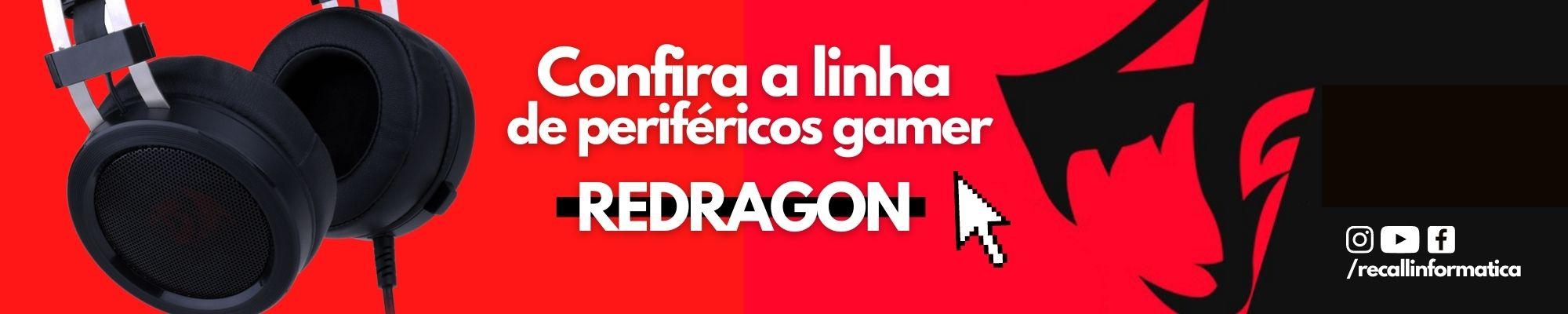 Confira os novos periféricos da REDRAGON!