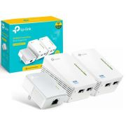 Adaptador Powerline Extender 300mbps Wifi Av600 TL-WPA4220 TKIT