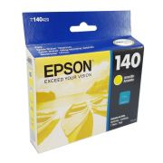 Cartucho EPSON T140 Amarelo para T42WD TX525 TX620FWD TX560WD