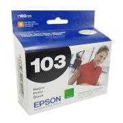 Cartucho EPSON T103120 T103 103 Preto para T40W TX600FW TX550W