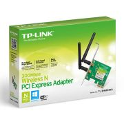 Placa de Rede Wireless PCI-E 300Mbps Banda Dupla TP-Link TL-WN881ND