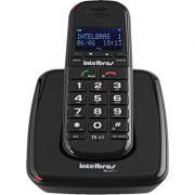 Telefone Sem Fio TS 63 V 6.0 Preto Intelbras