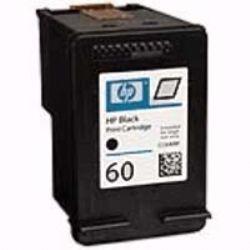 Cartucho HP60 HP 60  CC640WB  Preto para D1660 F4280 F4480 F4580 C4680 D110