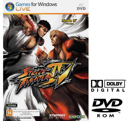 Game PC StreetFighter IV Vamos a luta para Windows Vista XP