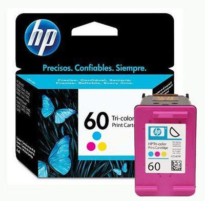 Cartucho HP60 HP 60 CC643WB Colorido para D1660 F4280 F4480 F4580 C4680 D110