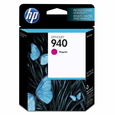 Cartucho HP 940 C4904AL Officejet Pro 8000  8500  Magenta Officejet