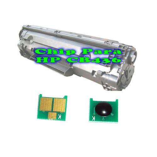 Chip para Toner CB436 da Impressora Laser HP P1005 E P1006
