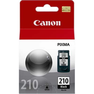 Cartucho Canon PG210 PG 210 preto para MP240 MP250 MP260 MP270 MP480 9ml