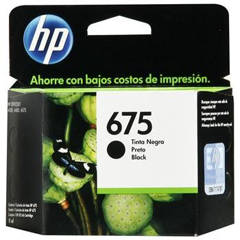 Cartucho HP675 HP 675 Preto CN690AL para 4000 4400 4575