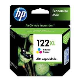 Cartucho Original HP122XL HP 122XL Color CH564HB para D1000 D2050 D3050 2050 Alta Capacidade