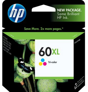 Cartucho HP60XL HP 60XL CC644WB Color para D1660 F4280 F4580 C4680 D110 Original
