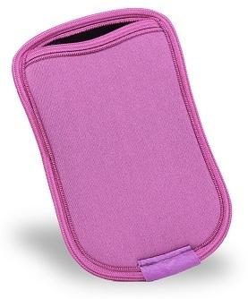 Capa Porta Celular Rosa com Preto Reliza 303001041