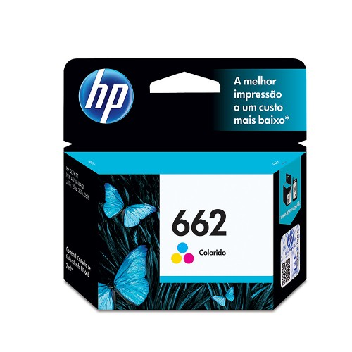 Cartucho HP662 HP 662 CZ104AB Colorido para 2515 2516 3515 3516