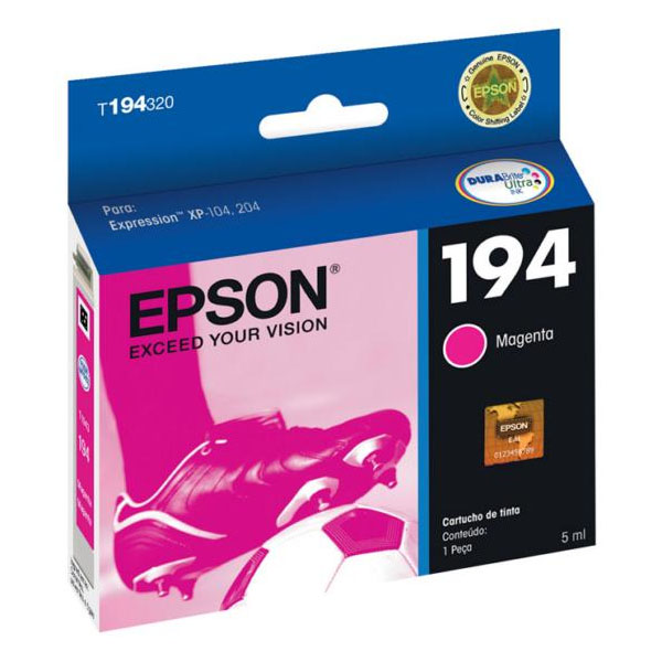 Cartucho Epson T194320 T194 194 Magenta Expression XP-204 XP-214