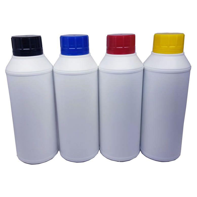 4 Tubos de 500ml de Tinta para Recarga de Cartuchos HP K550