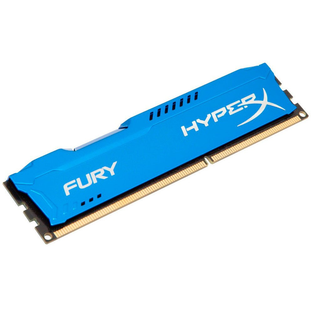 Memória 4GB 1866MHz DDR3 CL10 Kingston HyperX FURY Blue Series HX318C10F/4