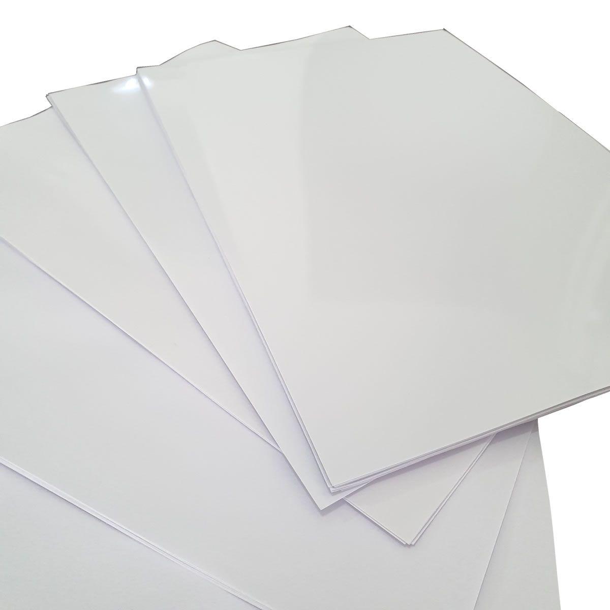 600 Folhas Papel A4 180G e 300 folhas adesivo 135gr Foto Glossy com Brilho Prova Dagua