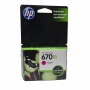 Cartucho HP 670XL Magenta 8ml Cz119ab para 5525 4615 4625