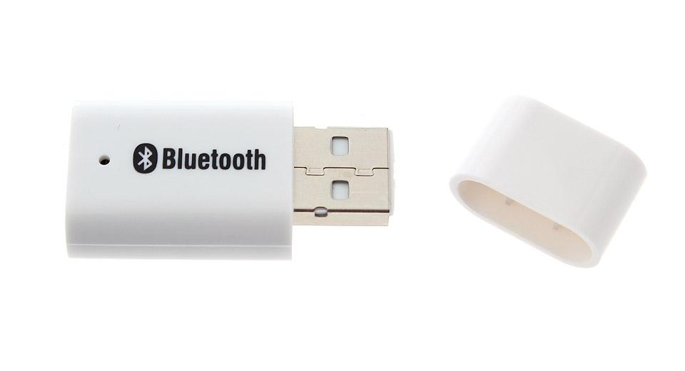 Adaptador Bluetooth Transmissor Receptor Audio P2 PT-810 Branco