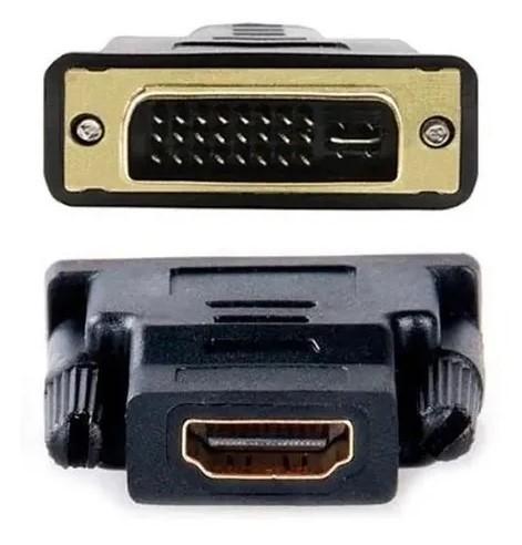 Adaptador Conversor DVI-I Macho X HDMI Fêmea CN-32