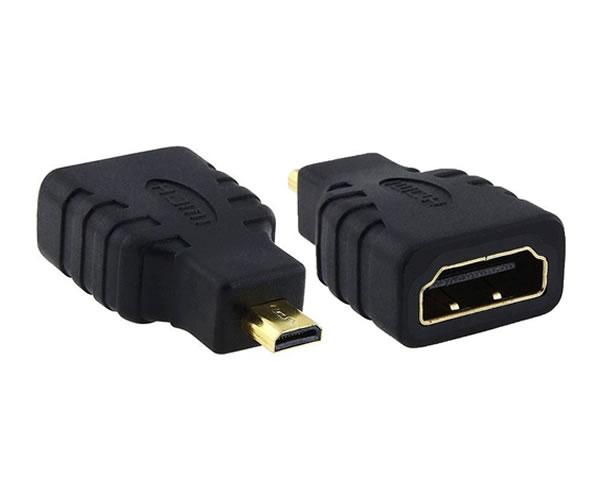 Adaptador Conversor HDMI Femea para Micro HDMI Macho