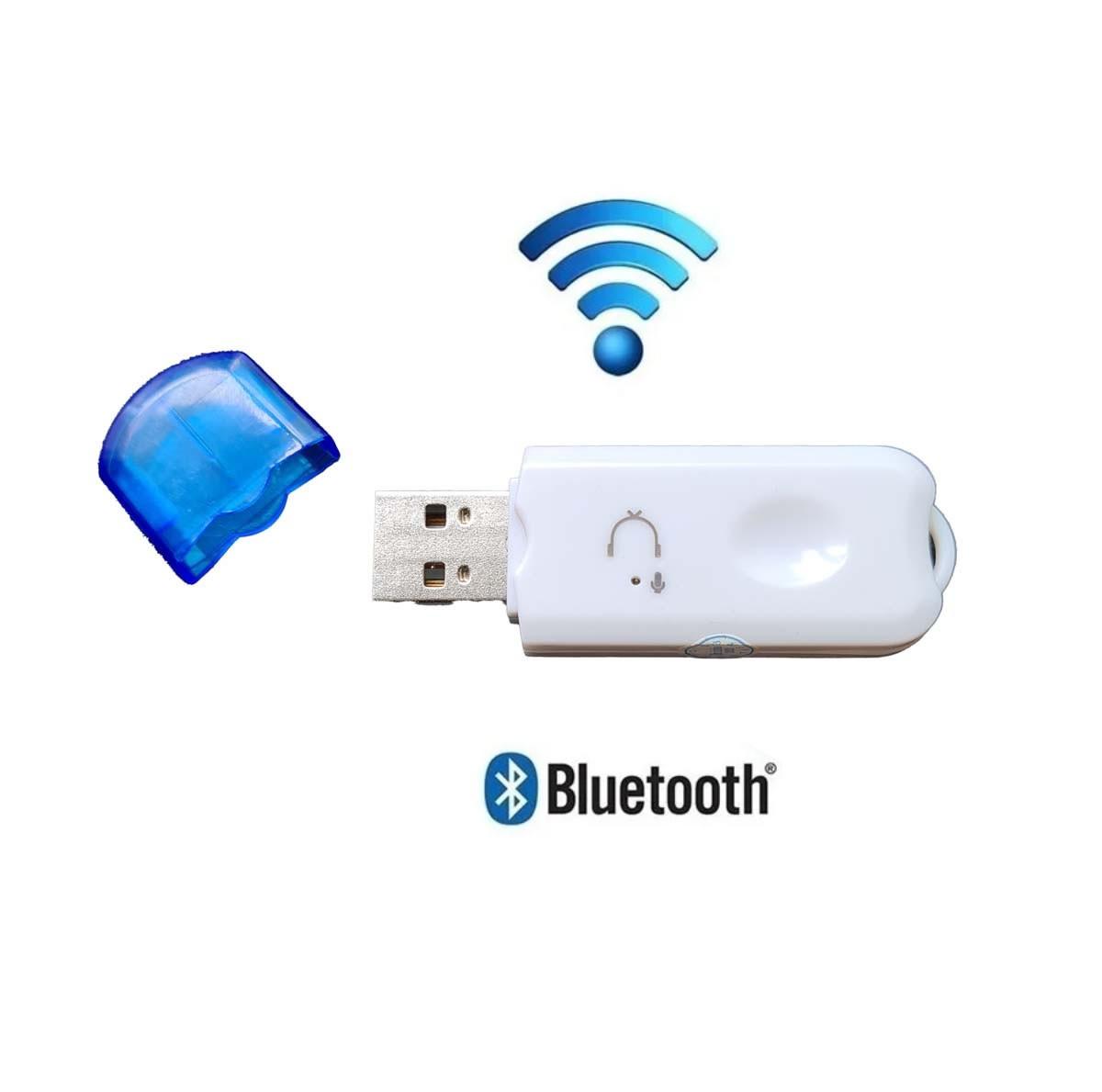 Adaptador Receptor Bluetooth Usb Pendrive para Musica em Radio Carro