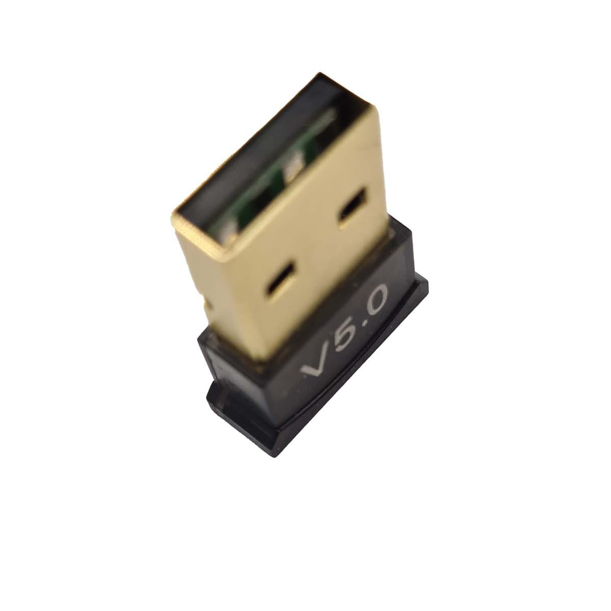 Adaptador Sem fio Transmissor Bluetooth 5.0 USB para PC Notebook