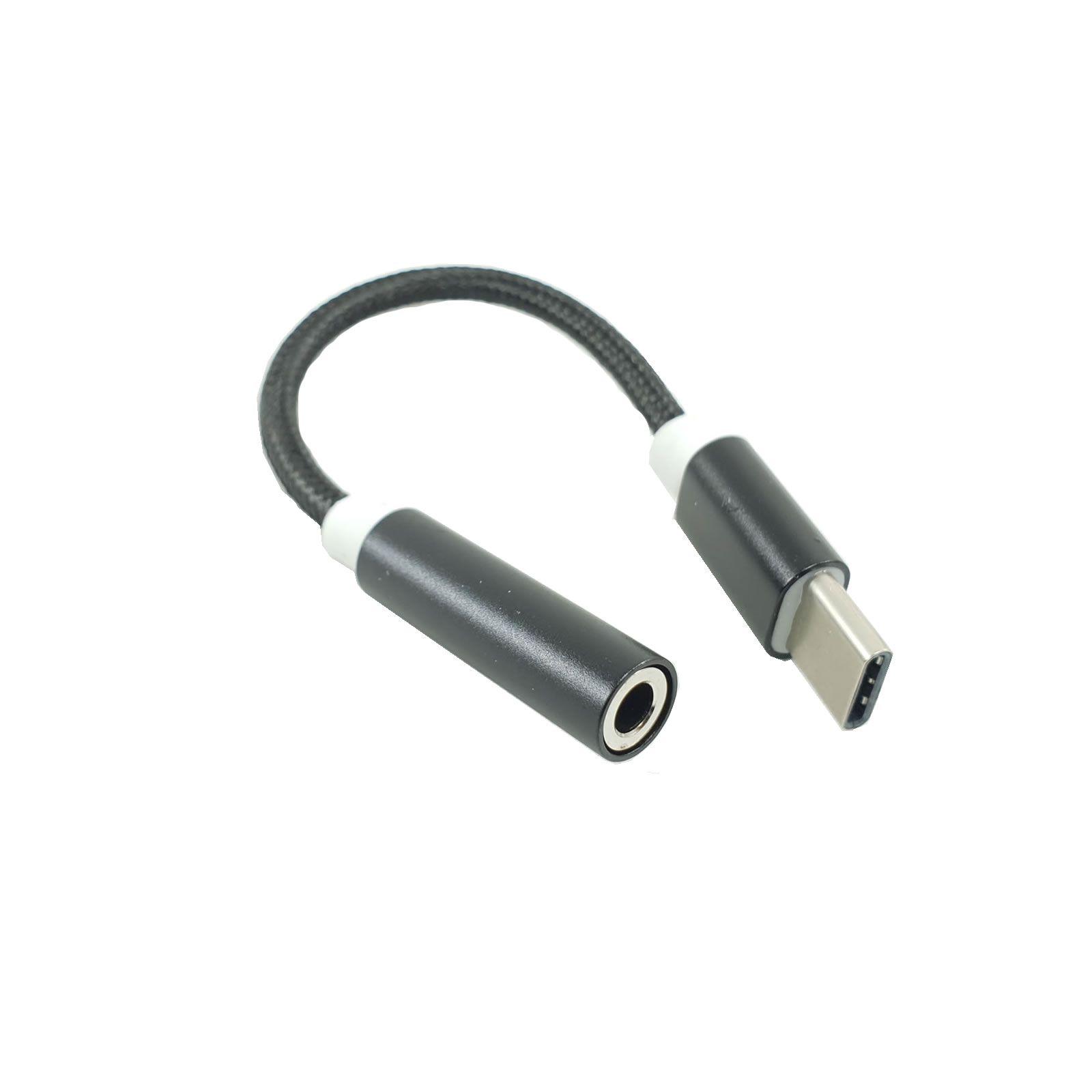 Adaptador USB-C X P2 plug 3.5mm para fone de ouvido