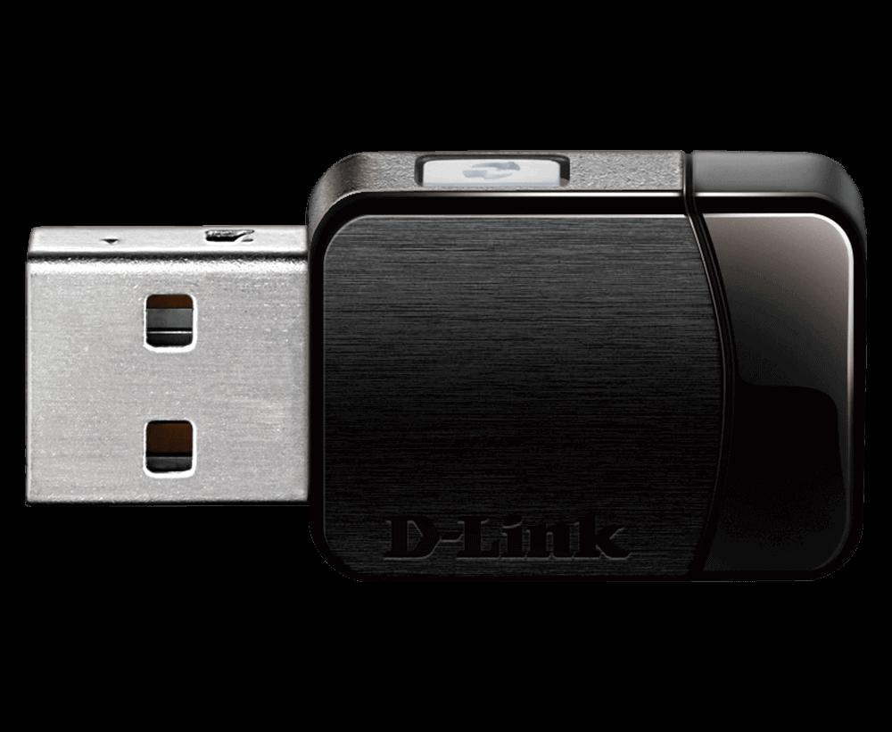 Adaptador USB Wifi MU-MIMO AC600  DWA-171