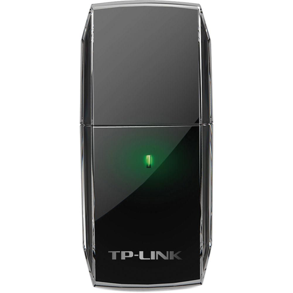 Adaptador Wireless TP-Link USB 2.0 AC600 Archer T2U