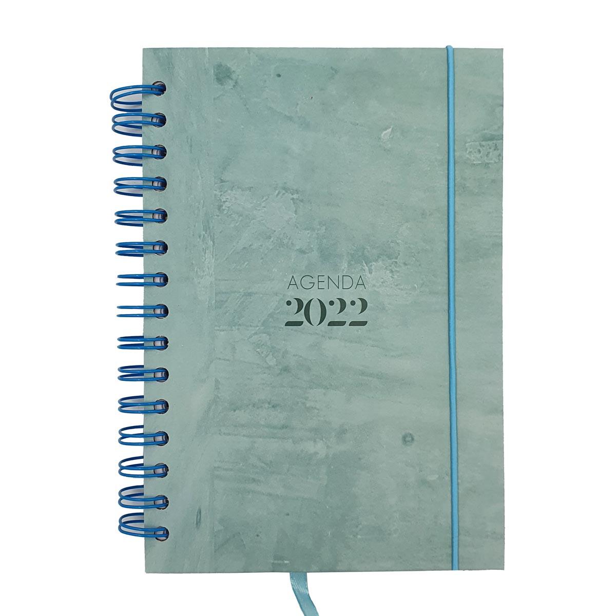 Agenda 2022 A5 Texturizada Verde